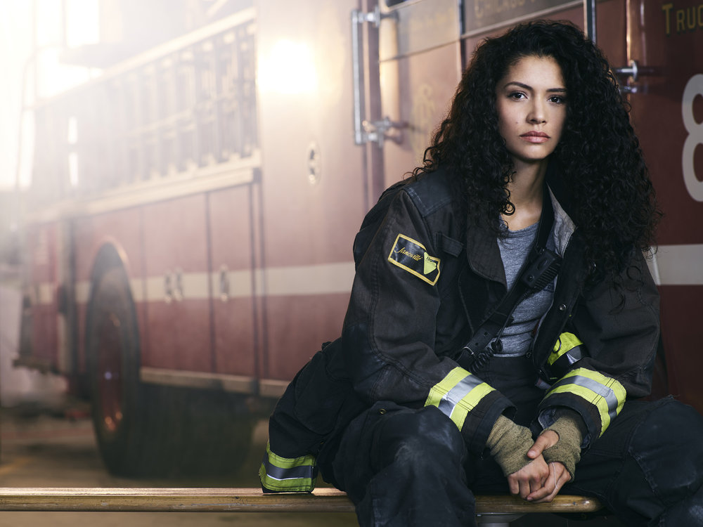 MIRANDA RAE MAYO  , CHICAGO FIRE - NBC