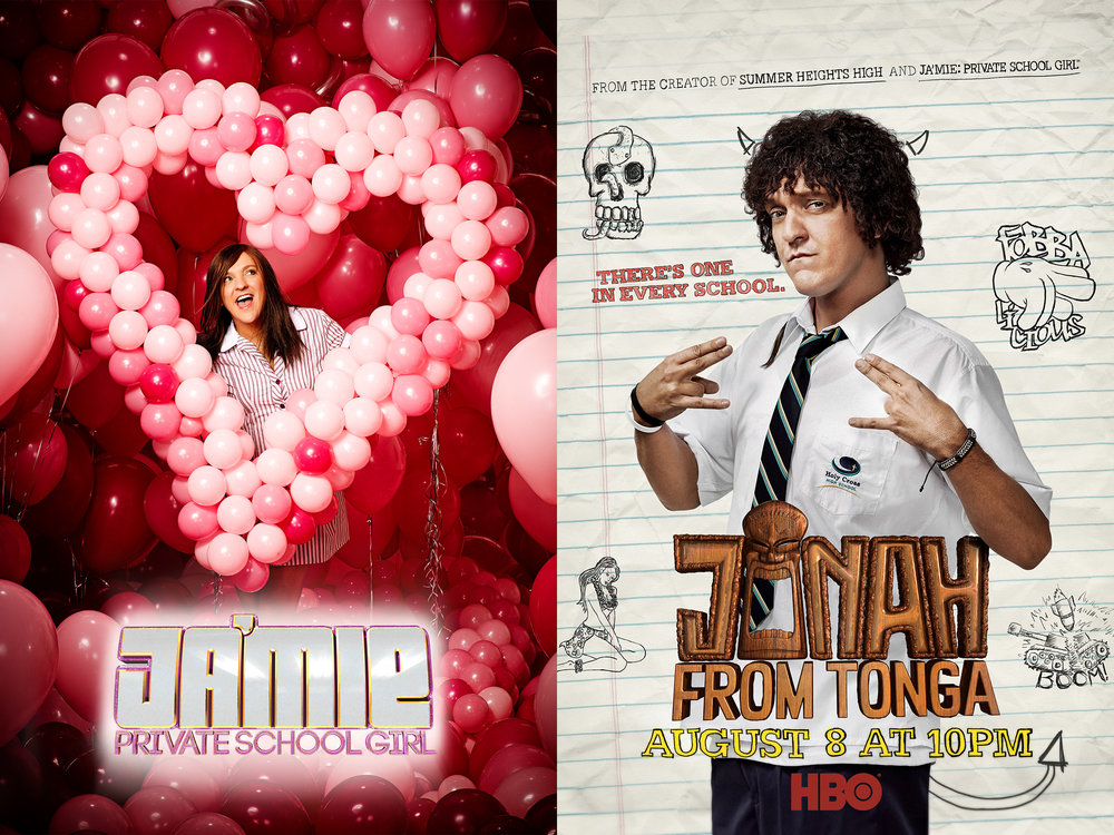 JA'MIE PRIVATE SCHOOL GIRL  &  JONAH FROM TONGA , HBO