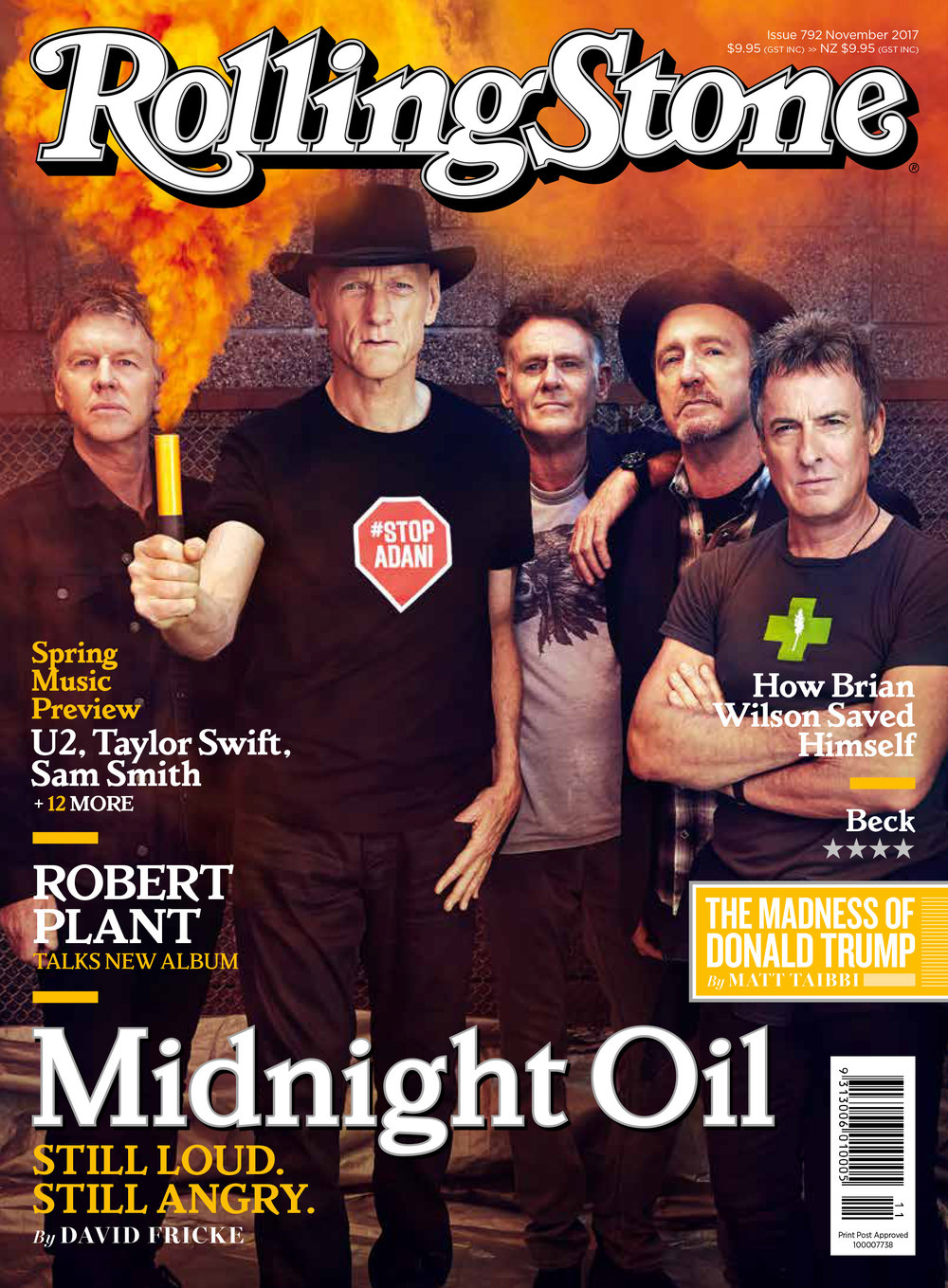 MIDNIGHT OIL, RollingStone, photo John Tsiavis 2