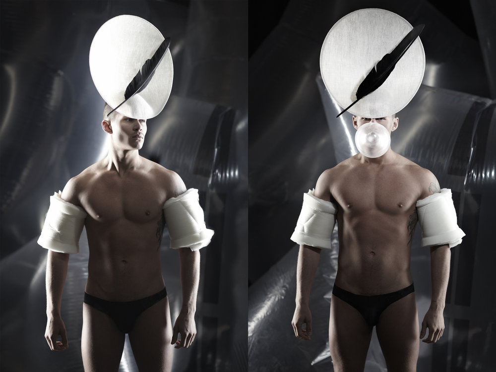 Philip Treacy, photo John Tsiavis 7