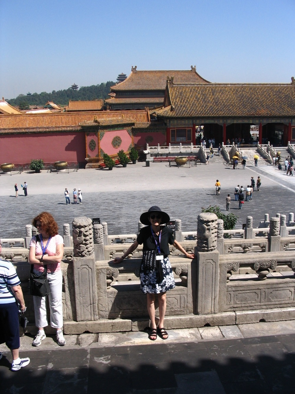 In the Forbidden City, China.