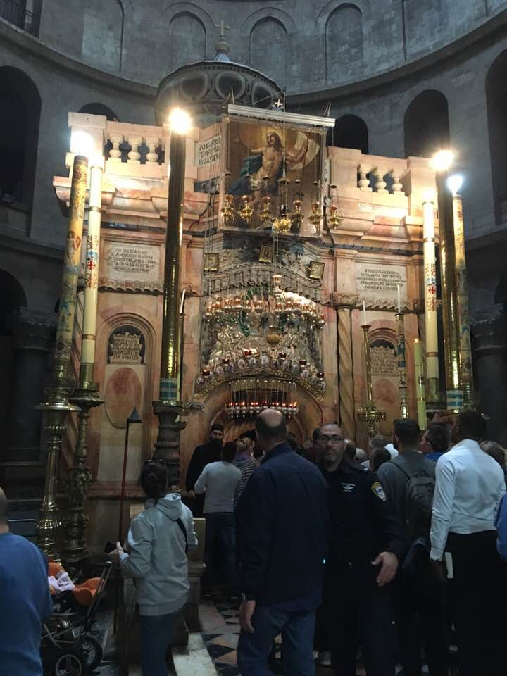 -  the Holy Sepulchre of Jesus