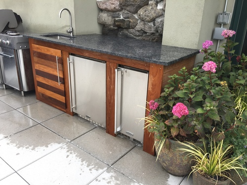 IPE Outdoor Kitchen