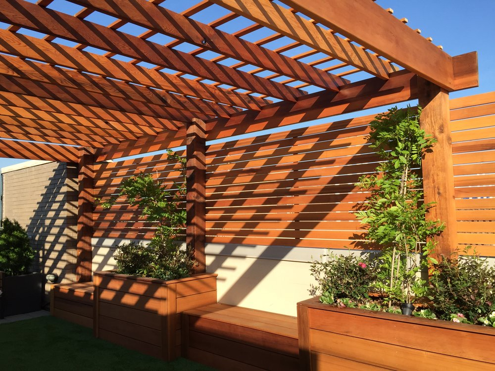 Williamsburg Clear Cedar Pergola Roof.JPG
