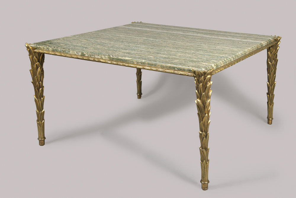 Coffee table from the maison bagu s paris 1960 70 for Coffee table 70 x 40