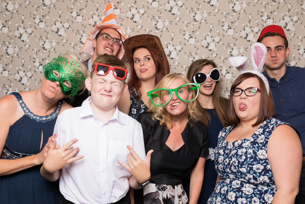 """Best silly faces!"" - Photo Booth - Kent Wedding Photographer"