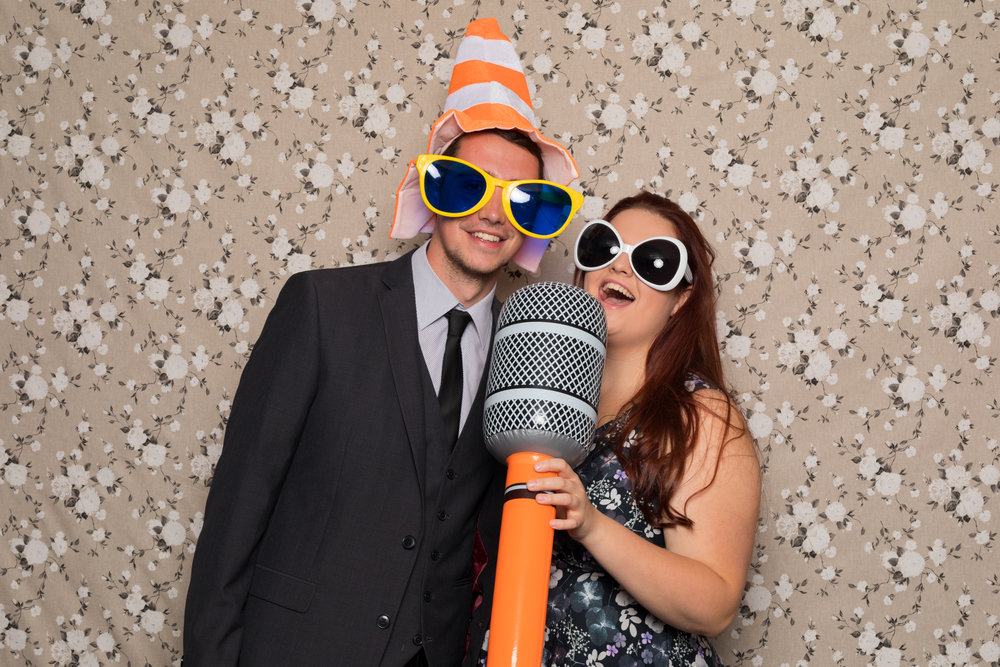 Sing Like Nobody is Listening! - Photo Booth - Kent Wedding Photographer