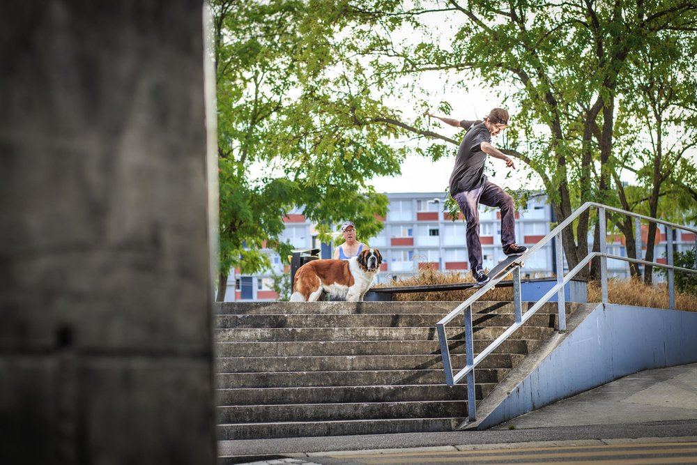 Steffen Christen - Smith grind