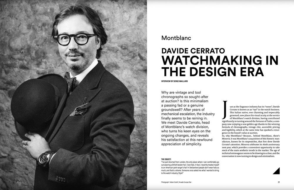 Portrait for Europa Star Magazine