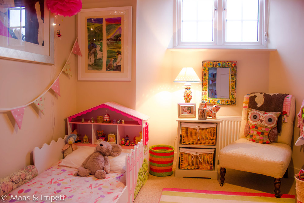 Childrens room interiors