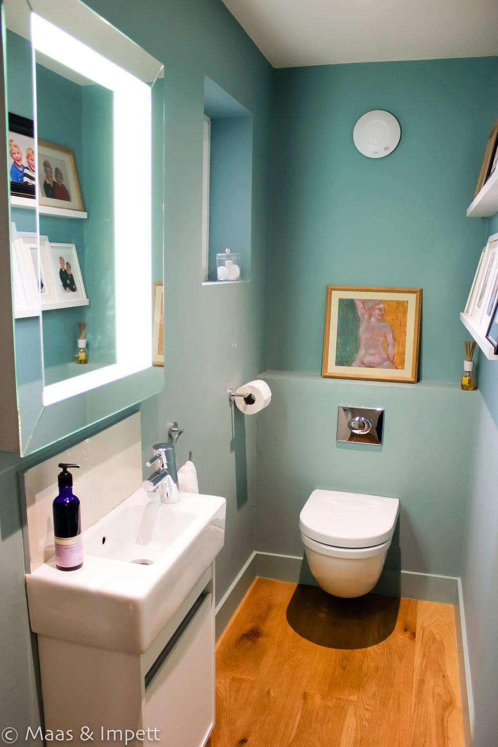 Interior designers hampshire, cloakroom