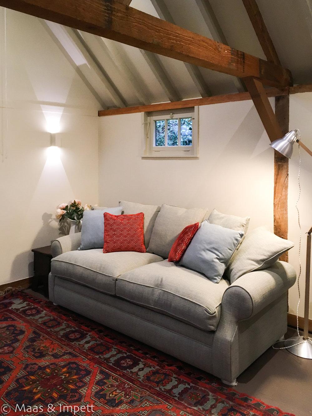 Building conversion Interior Design by Maas & Impett, Lymington
