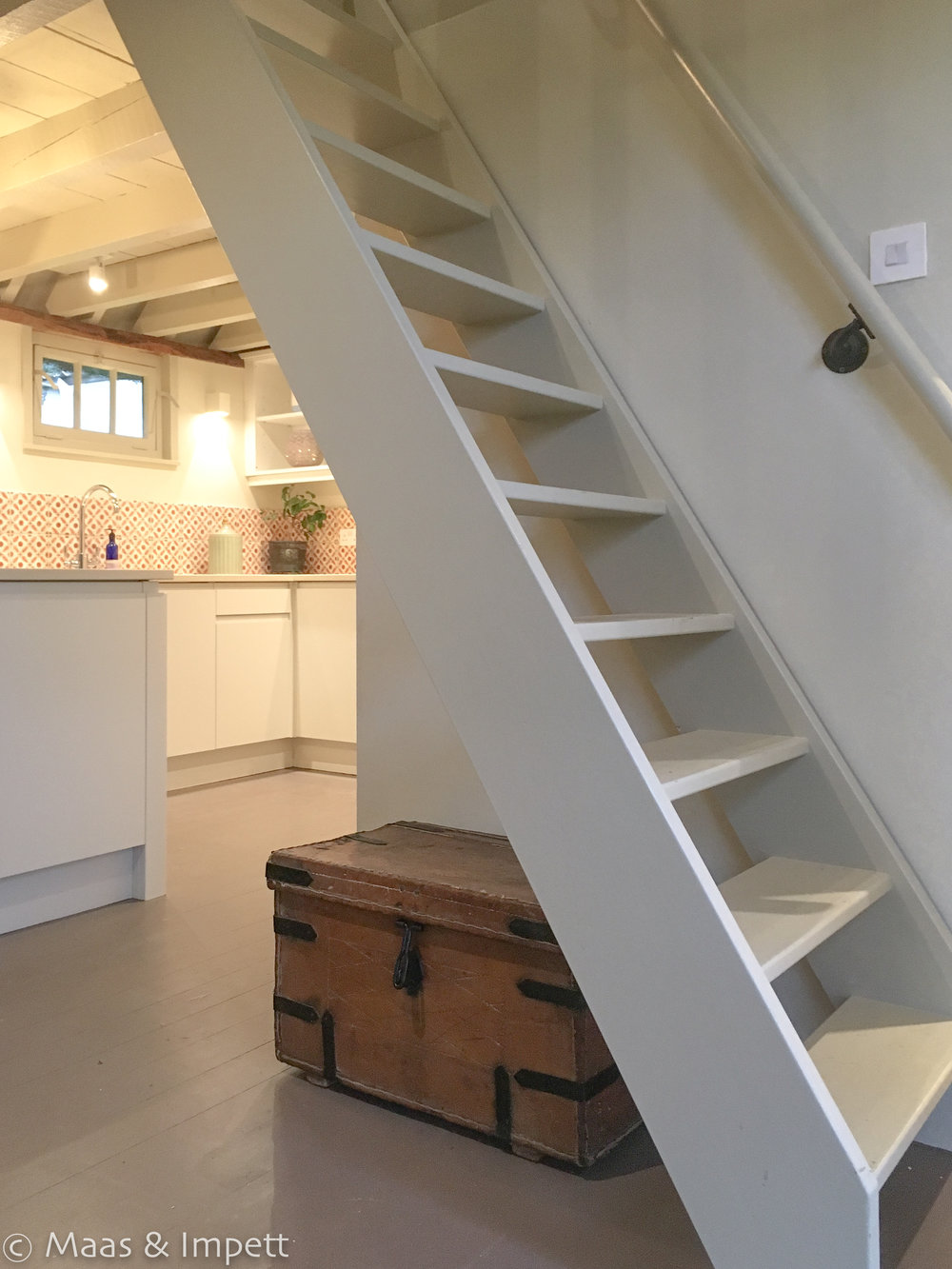 Barn Conversion in The New Forest by Interior Designers Maas and Impett