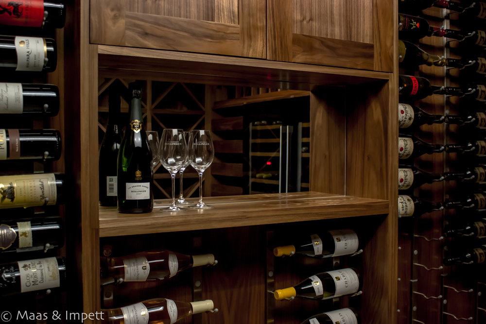 Bespoke  Carpentry foe Wine Cellar