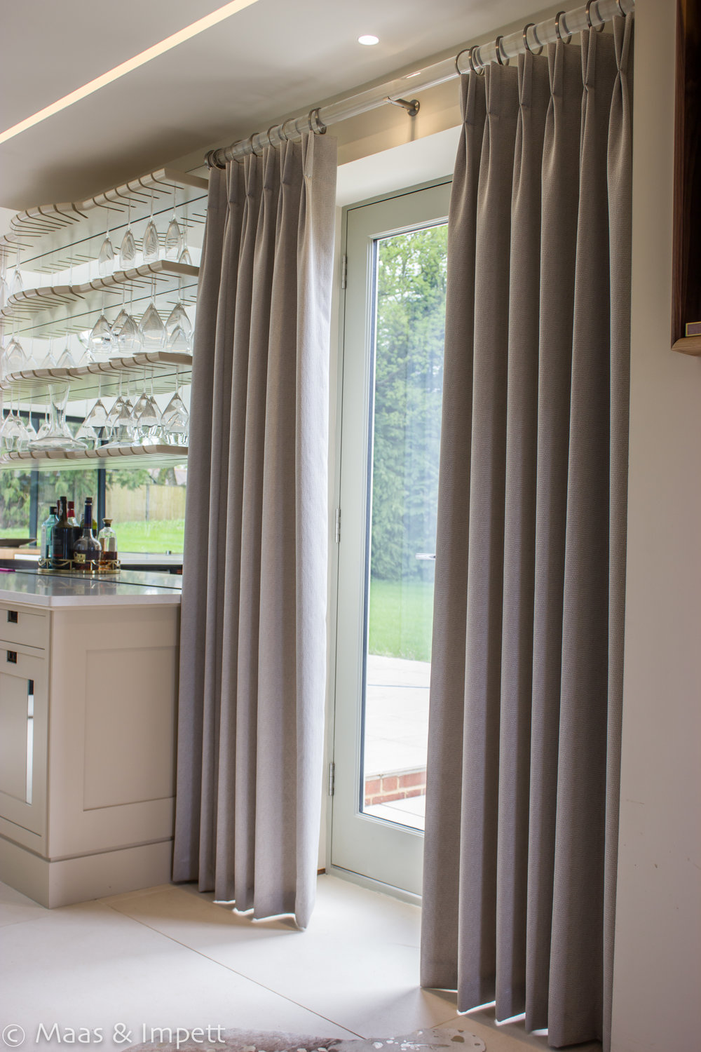 Bespoke Curtains by Interior designers