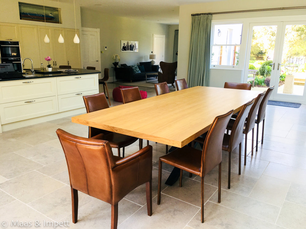 Open plan living in Lymington