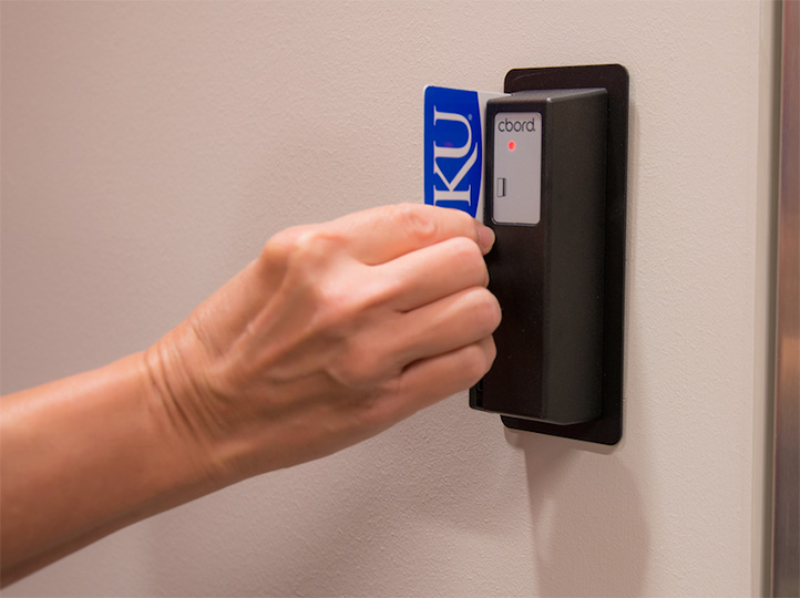 Planning during the initial phases of construction made the transition to an electronic access system easy.