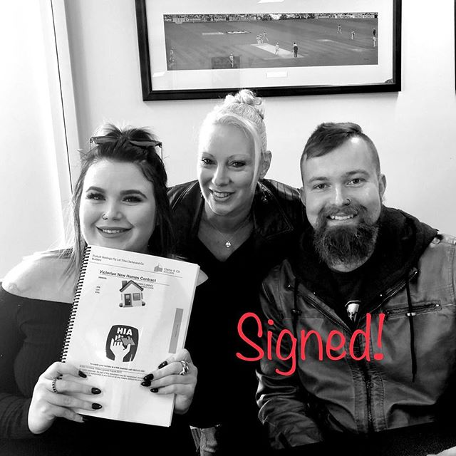 Contracts signed!!! We have had so much fun to date designing and selecting for these two wonderful clients. See our Facebook and Instagram page for regular updates as their incredible new home takes shape. So exciting!!! #clarkeandcobuilders #armstrongestate #villawood #customdesigned #custombuilders