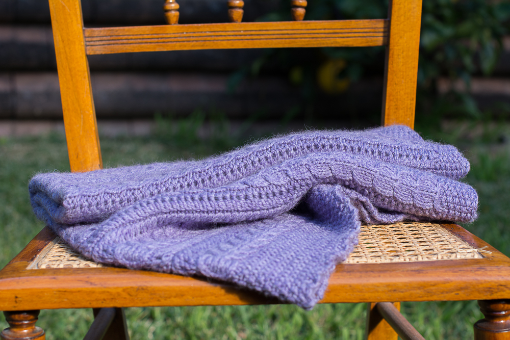 "<p><strong>Cuddle Me</strong>Baby Blanket<a href=""http://www.bymyhand.net/blog/knitted-cuddle-me-blanket"">More →</a></p>"