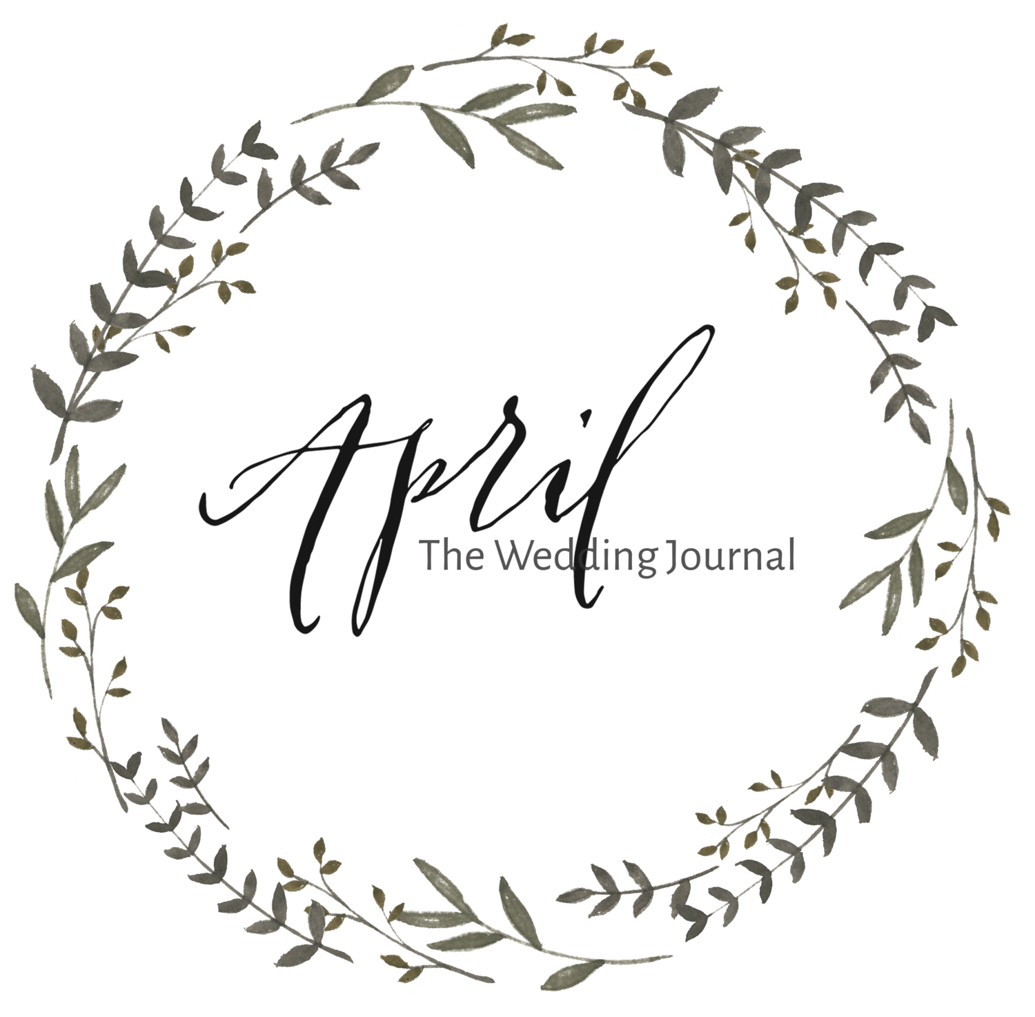 April, the Wedding Journal