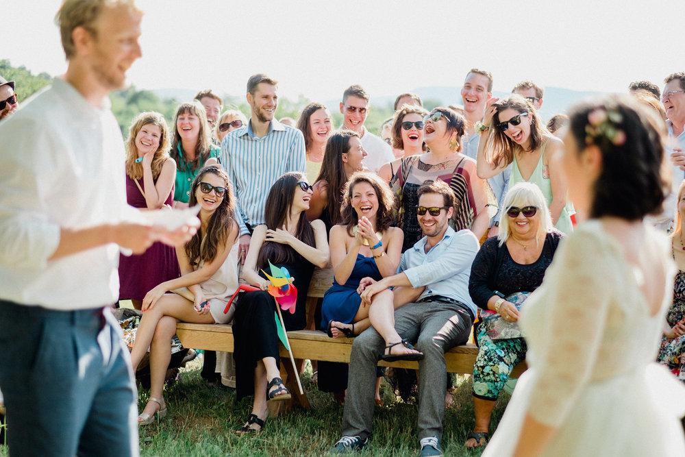 Emma és Ákos - egy igazi fesztiválesküvő