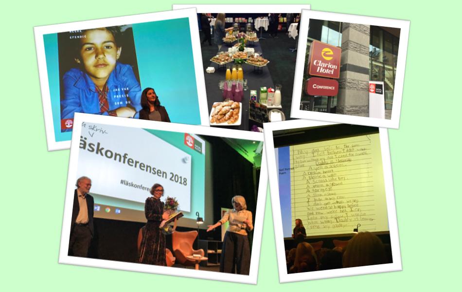 Läs- och skrivarkonferensen 2018,Clarion Hotel Sign Conference, Stockholm.