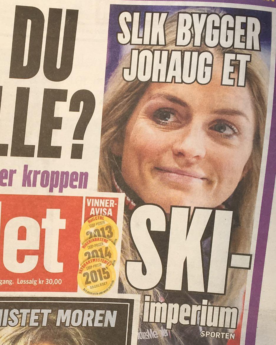 Dagbladet & TV2 var med å kickstarte JOHAUG-kampanjen vår.