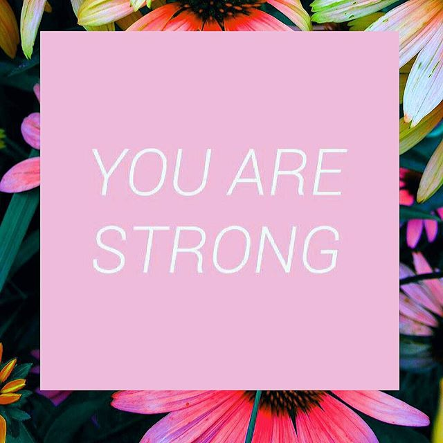 A nice little reminder I like to give myself everyday. No matter what happens, just remember that you are STRONG and you can get through it!! ~Debriel  #inspirationalquotes #uplifting #strong #youarestrong