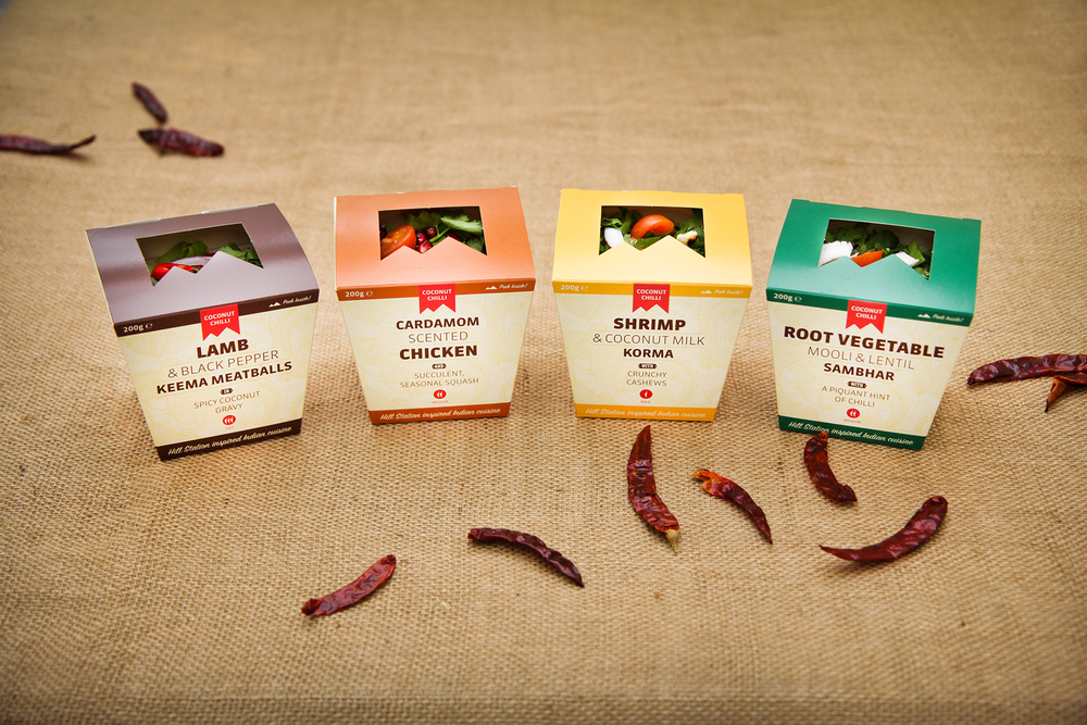 Coconut Chilli food range