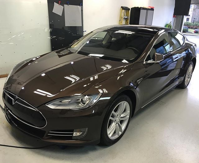 Tesla in for annual maintenance wash after being coated with Finest a year ago. Finest was still holding up brilliantly so was just wiped down with Reload. #autowerkesexclusive #autodetailing #detailersofinstagram #carprous #carpro #cquartz #finest #tesla