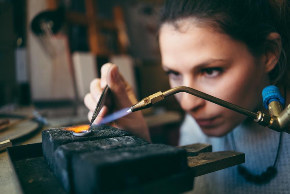 Workshops Els Louwette making ring