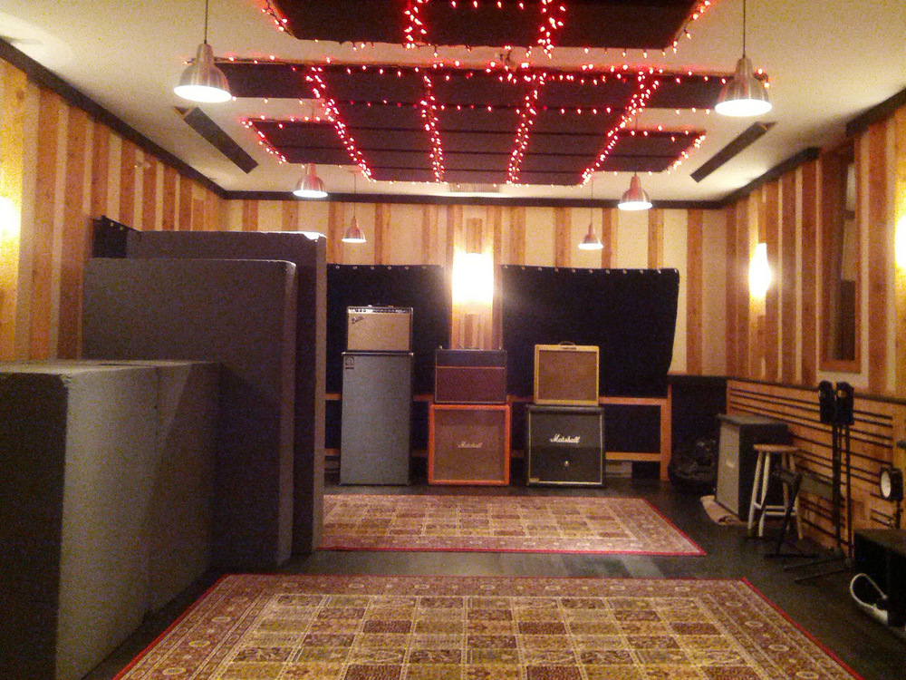 The live room of the Farm Studios, Gibsons, BC
