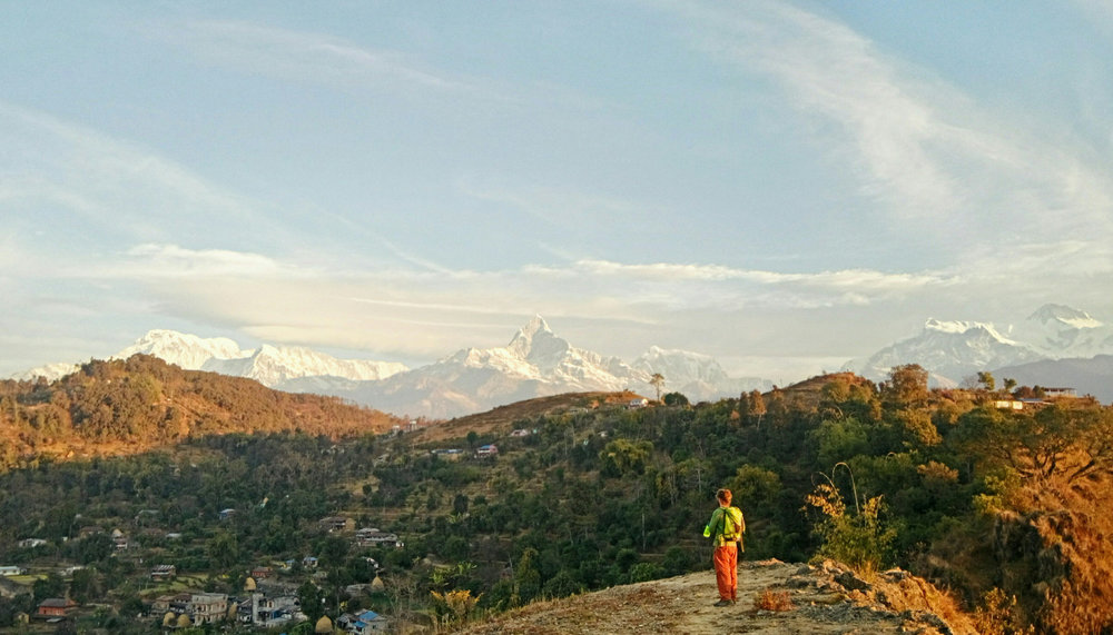 Sunrise from Methlang, Pokhara, Nepal