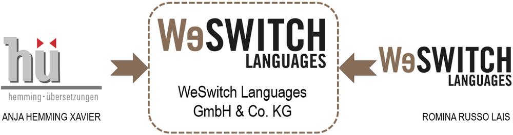 Zusammenschluss in der WeSwitch Languages GmbH & Co. KG
