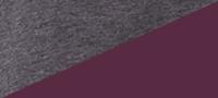 Charcoal Burgundy
