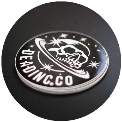 Circular Vinyl Stickers
