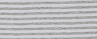 Melange Grey/White Stripe