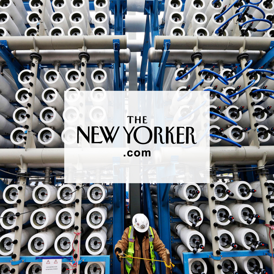 Can Desalination Counter the Drought?