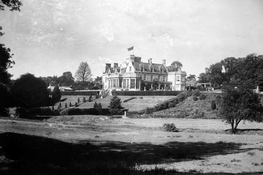 Easton Hall in the 1890s