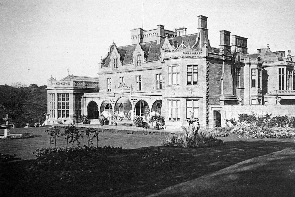 Easton Hall South Front 1901