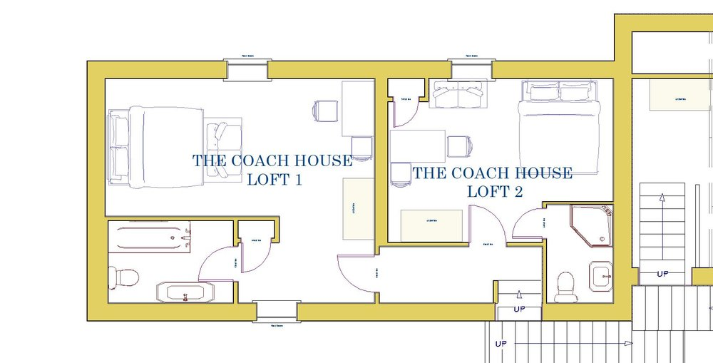The Coach House Lofts - floorplan