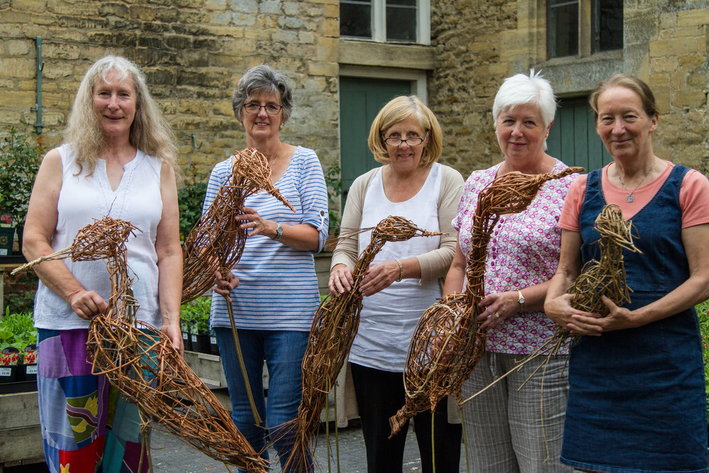 Willow Weaving Course Easton Walled Gardens