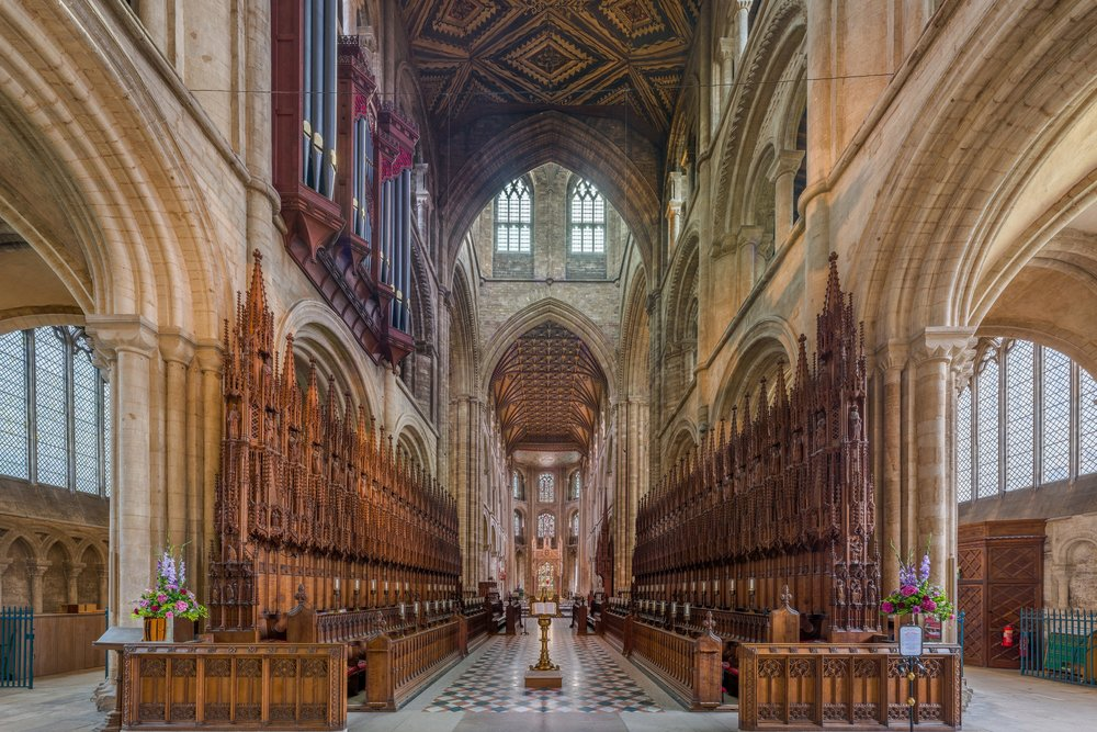 Peterborough Cathedral By Diliff