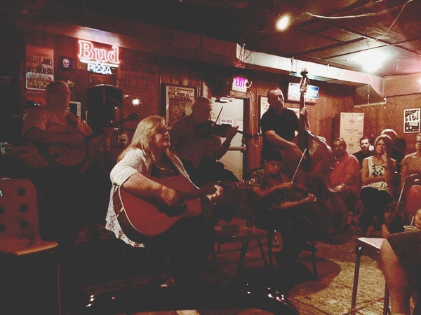 Bluegrass at the Station Inn in Nashville