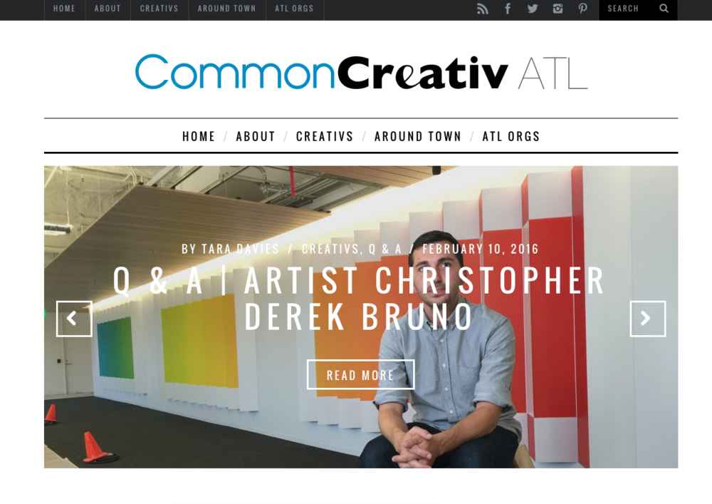 WordPress Design   | www.commoncreativatlanta.com
