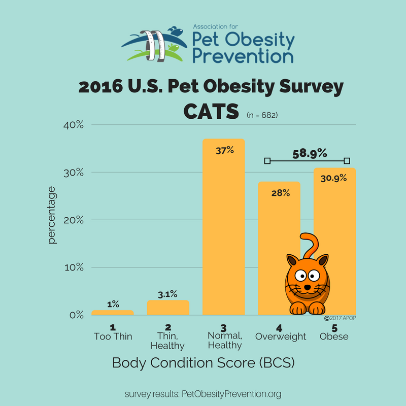 2016 U.S. Cat Population Survey Overweight and Obese