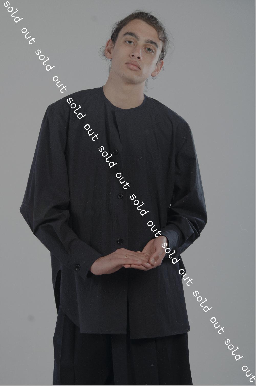 joseph-hollebon-collarless-shirt-agoraphobia-collective