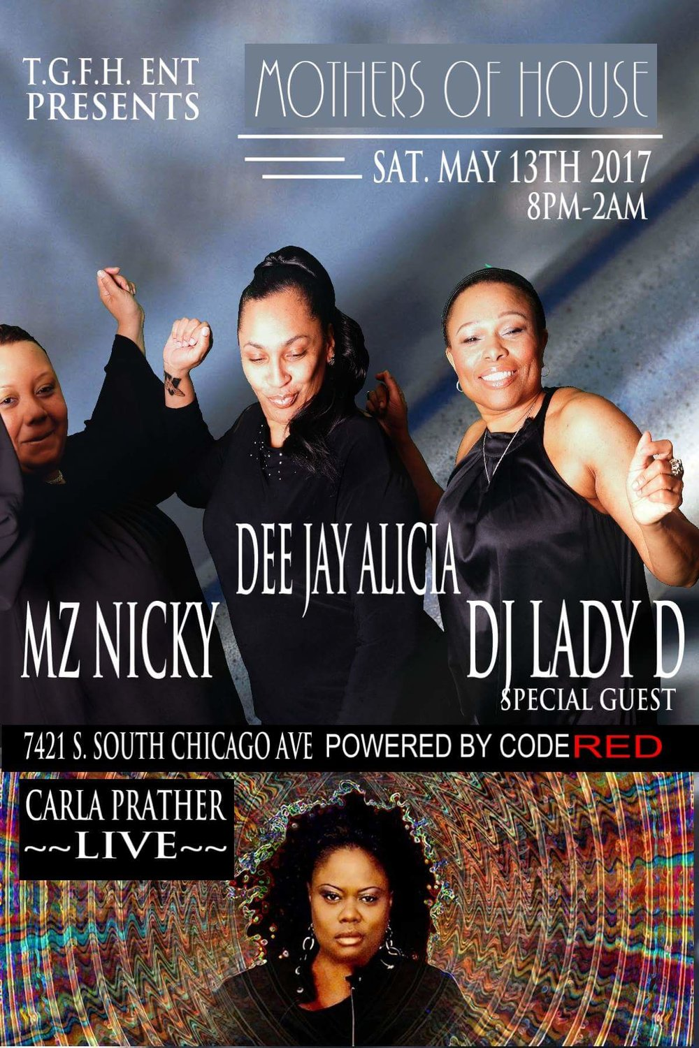 Saturday, May 13th! Join the Mothers of House!!!