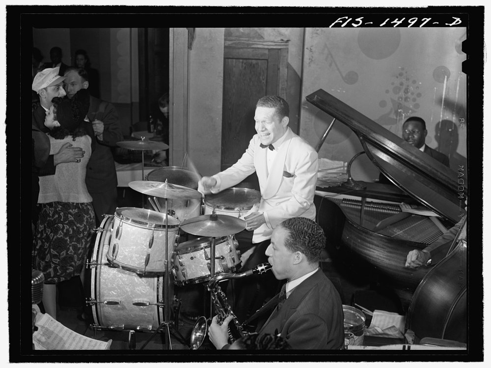 """My Grandfather, Theodore """"Red"""" Saunders and his Orchestra!"""
