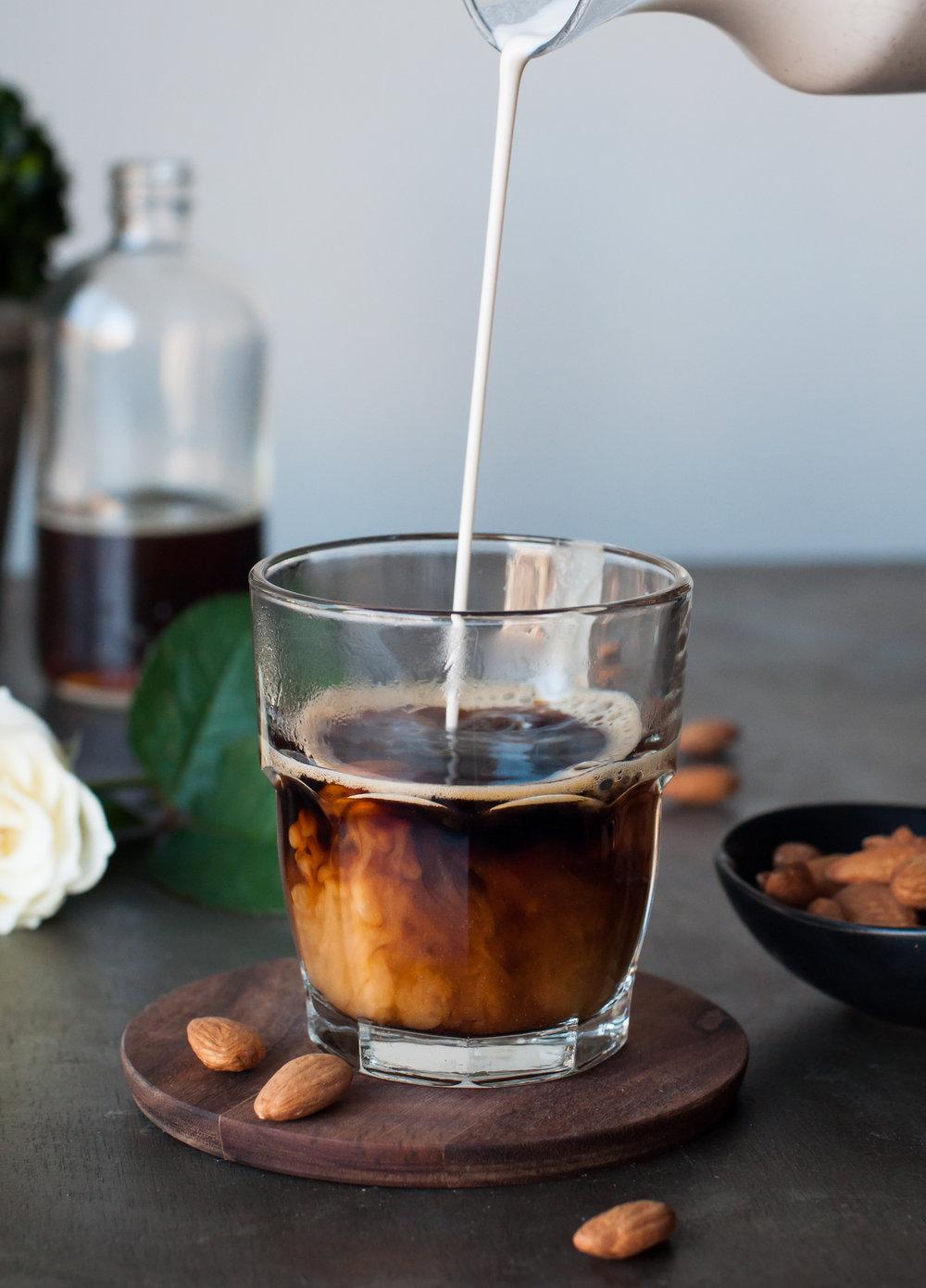Hazelnut Dairy Free Coffee Creamer { dairy free, refined sugar free, paleo } — saltnpepperhere